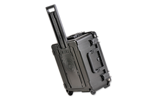 waterproof case with foam and handle