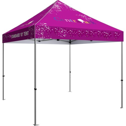 10 ft pop up tent with canopy