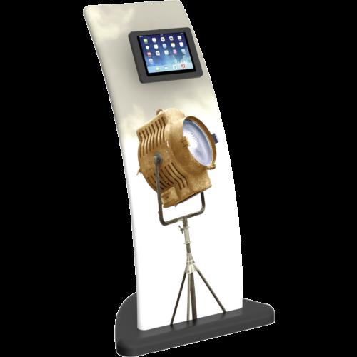 curvef ipad kiosk