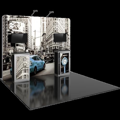 10′ HP06 Modular Display Kit left view