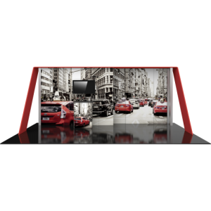 10×20 HP15 Modular Display Kit front view