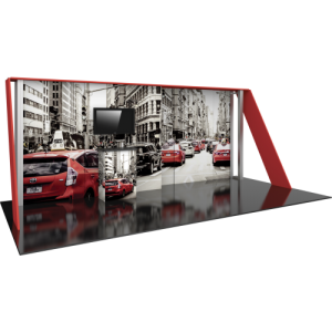 10×20 HP15 Modular Display Kit left