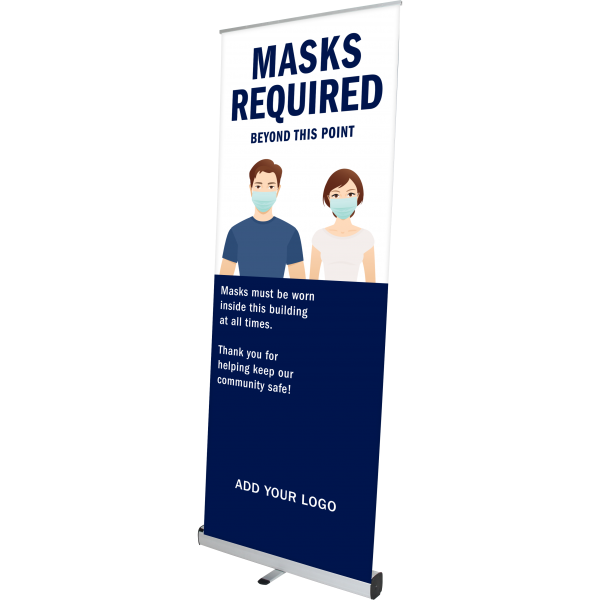 pegasus retractable banner stand right