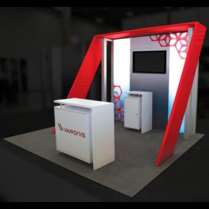 creative trade show booth design HP07