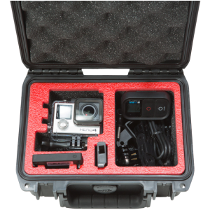 Waterproof Single GoPro Case front open