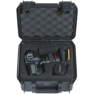 Waterproof DSLR Camera Case front open