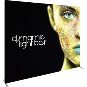 10 Ft Dynamic Light Box left