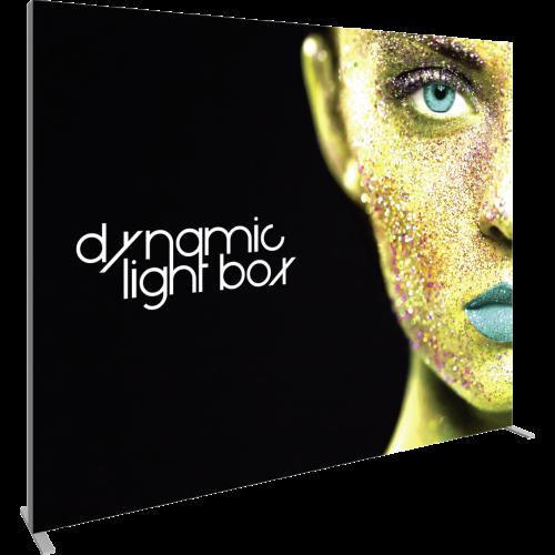 10 Ft Dynamic Light Box left