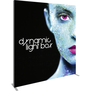 7 Ft Dynamic Light Box With Programmed Light Series left