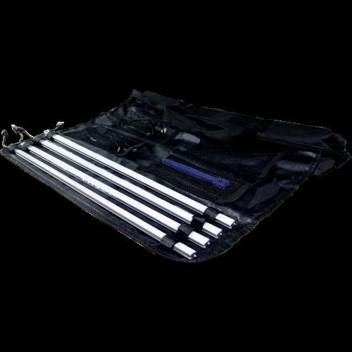 Outdoor Tent Light Kit open bag with lights inside