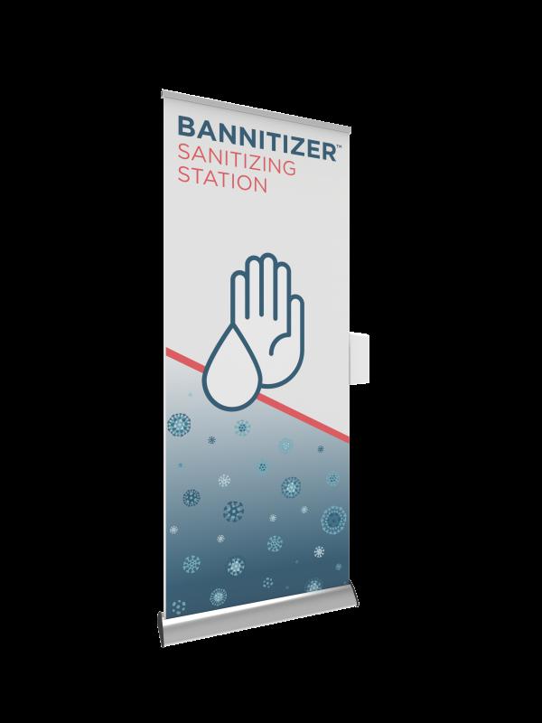 Bannitizer Sanitizing Station Kit left
