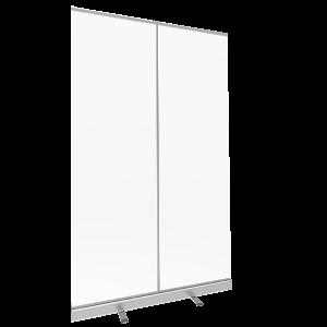 47.25 Retractable Banner Shield left