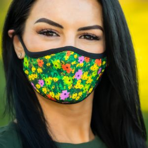 Women's CA Poppies Face Covering front